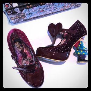 Irregular choice velvet gnome shoes ⭐️REDUCED⭐️NIB